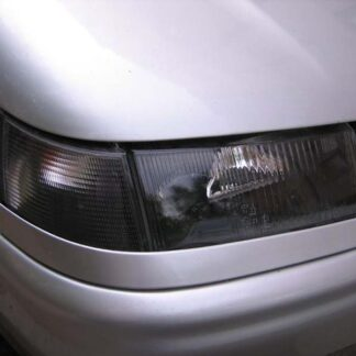 Светло-черная пленка для фар авто